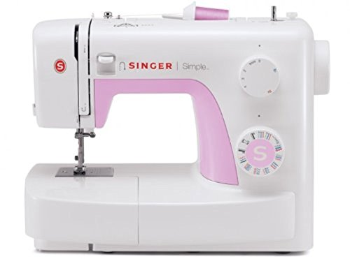 Singer Simple 3223 - Máquina de coser mecánica, 23 puntadas, color blanco