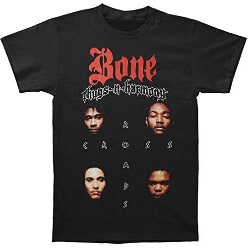 Bone Thugs-N-Harmony Men's Crossroads #2 Slim-Fit T-Shirt (Bone Thugs N Harmony-shirt)