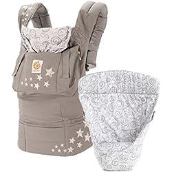 Ergobaby Babytrage Kollektion Original -von Geburt an Paket- (3,2 - 20 kg), Galaxy Grey