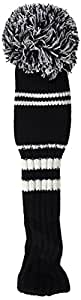 Longridge Fairway Pom Head Cover - White/Black