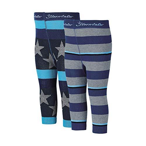 Sterntaler Leggings 2er-Pack blau/marine/grau Größe 86