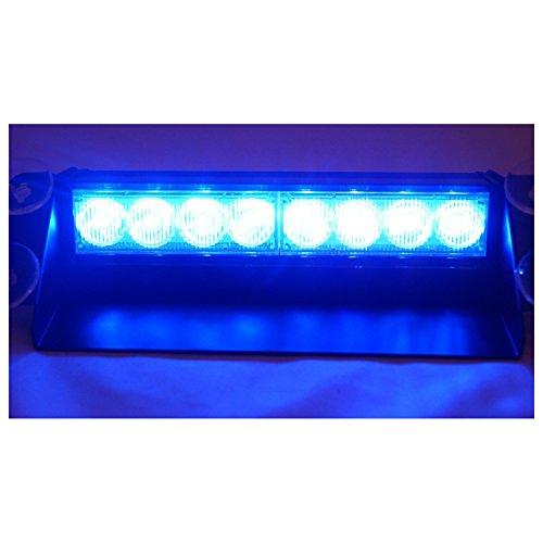 E-db Lampeggiante LED Luci Lampeggianti Emergenza Fari Stroboscopiche (Blu)