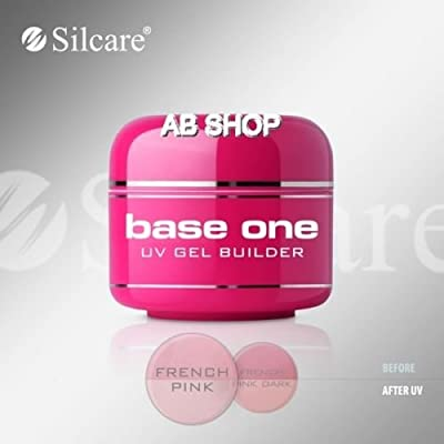 Base One French Pink 15g UV Gel Builder Silcare