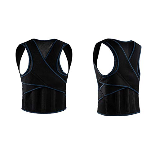 Humpback Correct Bring Vertebra Standing Sitting Back Chest Shoulder Support Belt Body Shaper - Back Shaper