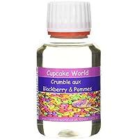 Cupcake World Aromas Alimentarios Intenso Crumble con Mora y Manzana - 100 ml