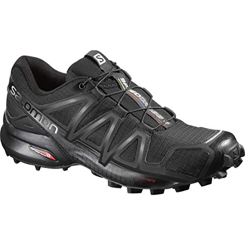 Salomon Speedcross 4 W, Zapatillas de Trail Running para Mujer, Negro Black/Black/Black Metallic...