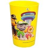 Unbekannt 4 Stück _ 3 in 1 - Trinkbecher / Zahnputzbecher / Malbecher - Becher -  Paw Patrol - Hunde - GELB  - 250 ml - Trinkglas aus Kunststoff Plastik - Kinder - Mä..