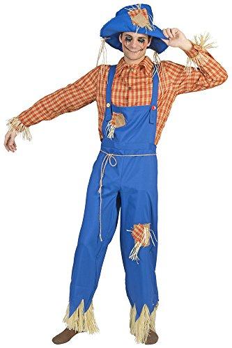 Kostüm für Herren Gr. 56 58 (Stroh Hut Vogelscheuche Kostüm)