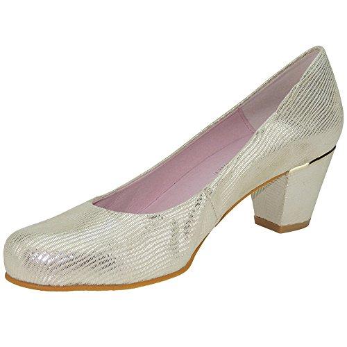 Chamby 709 Zapato Vestir Planta Gel y Tacón de 5