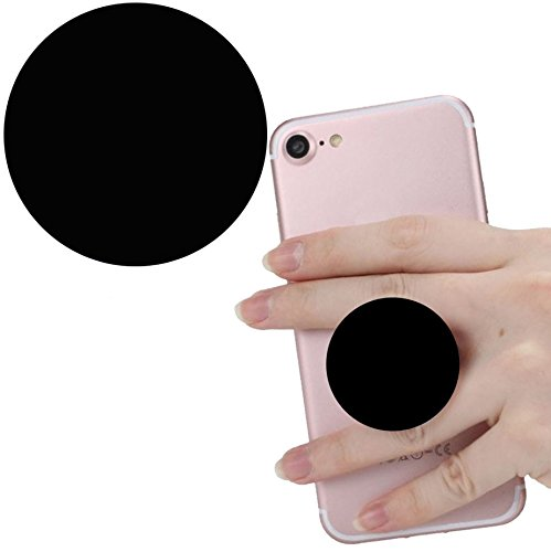 Smart Phone Expansion Ständer und Grip, Pop Expansion Ständer Halterung Universal Finger Halterung mit Anti-Fall Telefon Air Sac Smartphone socket Schr schwarz (Billig Ipod 3 Fällen)