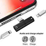 SaleOn 2in1 Splitter 8 Pin to Dual 8 Pin Phone Charger Converter/Charging Cable