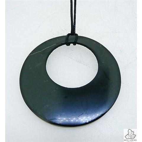 Collier Cercle avec trou shungit