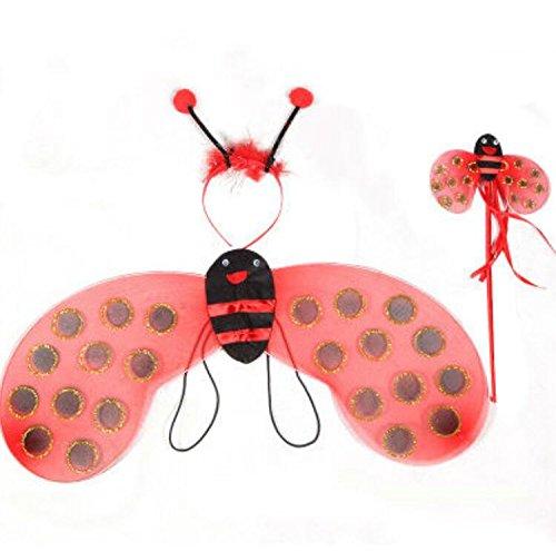 Cute Baby Marienkäfer Kostüm - Driverder Cute Ladybug Wings Requisiten Kostüme