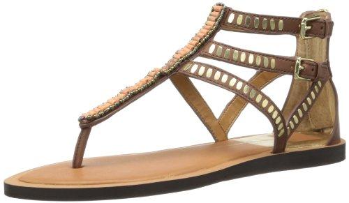 Dolce Vita-gladiator-sandalen (Dolce Vita Faxon Damen Braun Leder Gladiator Sandalen Schuhe Neu EU 40)