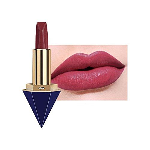 Scrox Rouge à lèvres de Maquillage (Crimson) résistant à l'eau Durable, Charme féminin