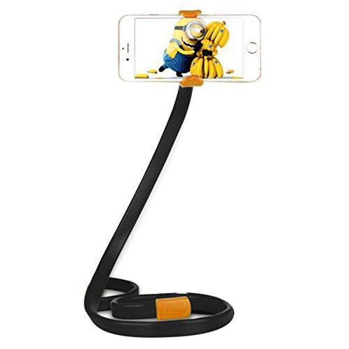 Preisvergleich Produktbild Sedeta® 360 drehbare Telefonhalterung Multifunktions Lazy Bed Desktop Ständer Halter Autohalterung Ständer Selbstauslöserstange Selbstauslöserhalterung Orange