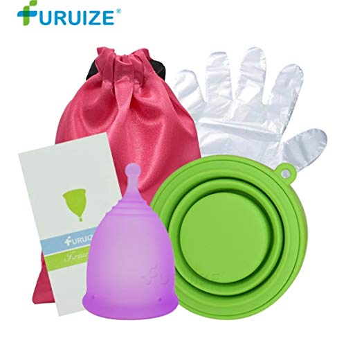 Copa Menstrual Esterilizador Plegable Furuize. Incluye
