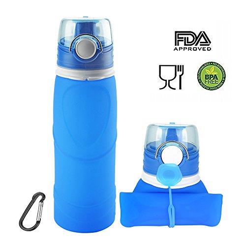 ieGeek-Botella-Plegable-de-Silicona-de-Alimentos-para-Deporte-para-Aire-Libre-Azul