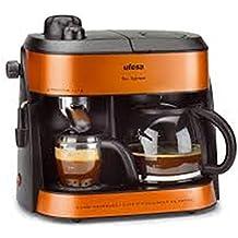 Ufesa CK7355 - Máquina de café, 1800 W, color naranja