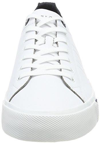 Tommy D2285ino White Herren Weiß Hilfiger Sneaker 1a PPr4qzxO