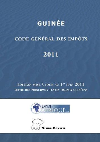Guinée - Code Général des Impôts 2011