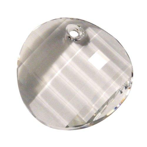 Rayher 14376120 cristal Swarovski Pendentif de taille de boîte 28 mm 1 pièce Twist mondstein