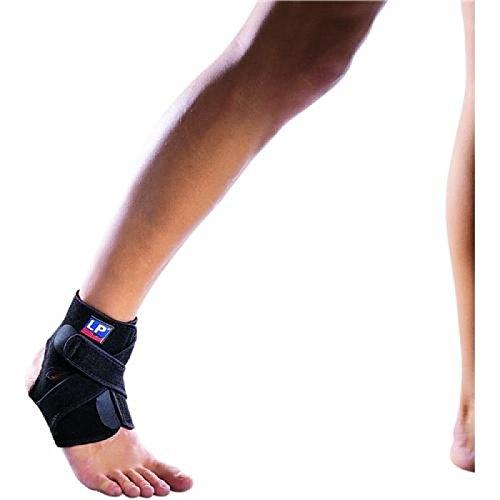 LP SUPPORT 757CA Knöchelstütze aus der Extreme Serie - Knöchel-Bandage - Knöchelsupport für Sport, Größe:Universalgröße, Farbe:schwarz