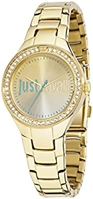 Just Cavalli r7253201501 - Reloj para mujeres color dorado