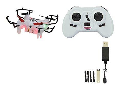 Jamara 422038 MiCoSpy FPV Drone WiFi Headless Flyback – 720 x 576px Video+Foto-Kamera, Track...
