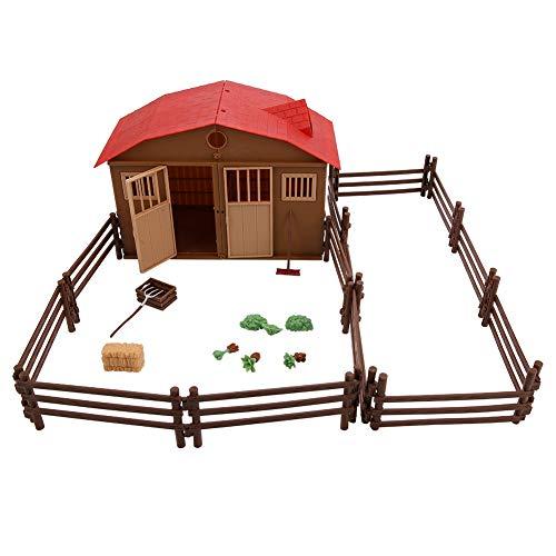 Garosa Simulierte Sand Tabelle Szene Modell Kinder Bauernhof Spielzeug Zubehör Intelligenz Spielzeug Modell - Bauernhof-tabelle
