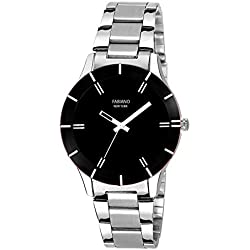 Fabiano New York Analog Black Dial Unisex Watch - FNY003