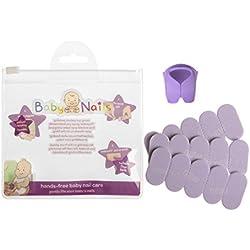 Lima de uñas para recien nacidos (0 meses +) I Cuidado de uñas bebé I Accesorio para recien nacidos y bebés I Regalo para mamás - 3 x 5