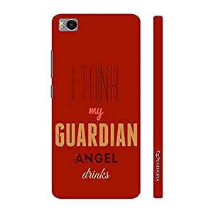 Enthopia Designer Hardshell Case Guardian Angel Back Cover for Xiaomi Mi 5s