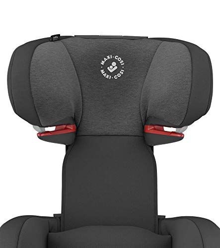 Maxi-Cosi RodiFix AirProtect Child Car Seat, Isofix Booster Seat, Black, 15-36 kg Maxi-Cosi Booster car seat for children from 15-36 kg (3.5 to 12 years) Grows along with your child thanks to the easy headrest and backrest adjustment from the top Patented air protect technology for extra protection of child's head 8