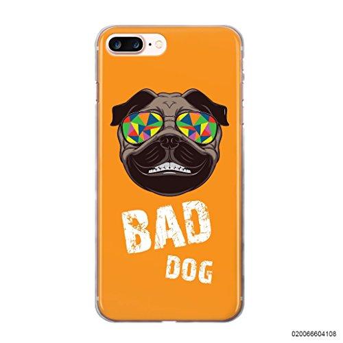 Blitz® BAD DOG motifs housse de protection transparent TPE caricature bande iPhone Fuchs M7 iPhone 6sPLUS Crazy Bad Dog M9