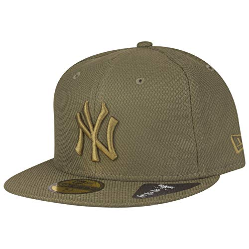 New Era New York Yankees 59fifty Basecap Diamond Era Olive - 7 1/8-57cm