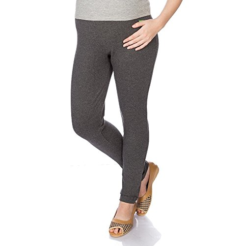 Goldstroms Women's Maternity Pant/Legging (Charcoal Grey, L)