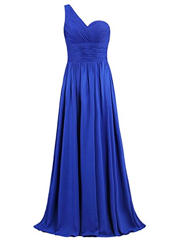 AZBRO Damen Luxury Strass Satin Prom Brautkleid Light Grey