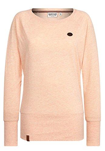 Naketano Female Sweatshirt Groupie Burning Melange, S