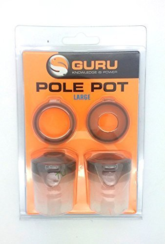 Guru Pole Fishing Pots All Sizes: Large