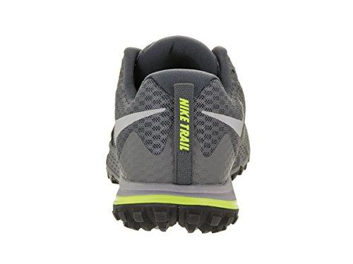 Nike Fingertrap Max Amp, Chaussures de Randonnée Homme Dark Grey/ Wolf Grey/ Black