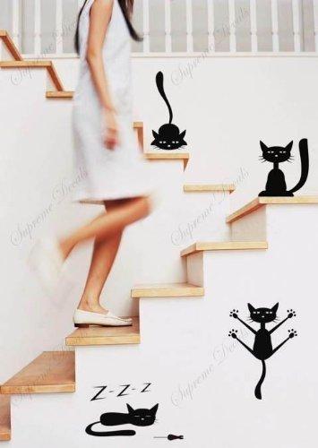 popdecals-sur-mesure-funny-cats-lot-de-4-superbe-arbre-stickers-muraux-pour-chambre-denfant-ado-fill