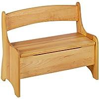 Preisvergleich für BioKinder 24785 Levin Kindersitzbank aus Massivholz 70 x 36 x 55 cm
