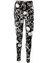 Mix Lot - Legging imprimé pour femme sexy, élastique et moulant - Collants élastiques à la taille - Vêtements de loisirs, taille 36 à 42