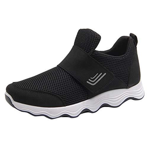 LMMET Donna Sneakers Sneakers 2019 Running Scarpe Donna Scarpe da Cricket Scarpe da Rugby Nero...