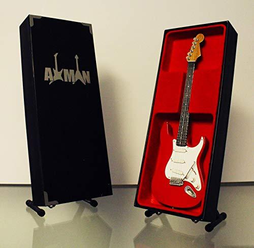Axman Mark Knopfler (Dire Straits): 1961 Fender Stratocaster - Réplica de Guitarra en Miniatura (Vendedor del Reino Unido)