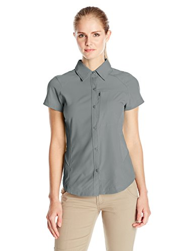 Columbia Women's Silver Ridge Short Sleeve Hiking Shirt, Nylon