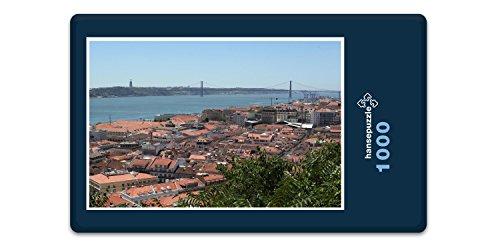 Preisvergleich Produktbild hansepuzzle 13986 Reisen - Lissabon, 1000 Teile in hochwertiger Kartonbox, Puzzle-Teile in wiederverschliessbarem Beutel