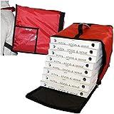 Zaino Borsa Termica Porta Pizze Torte e Gelati Pizza Da Asporto 8/10 Scatole Safemi