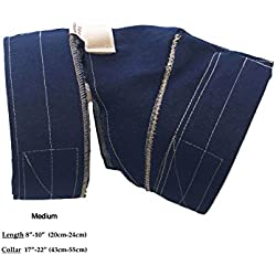 No Flap Ear Wrap Das Original (Medium, Denim)